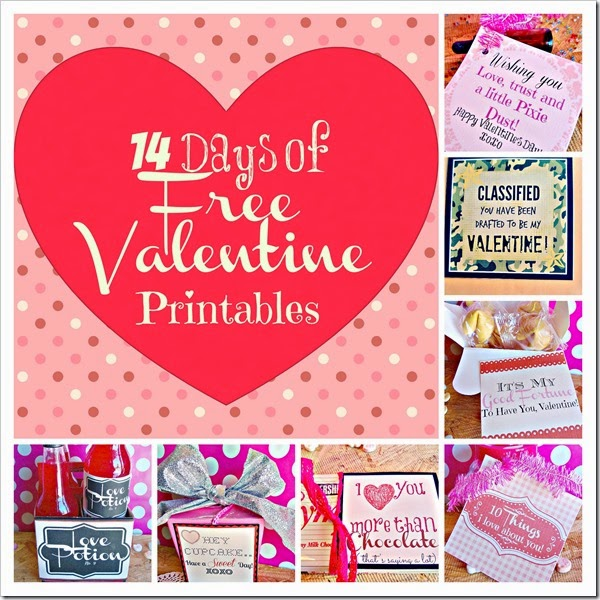 14 days of free printables