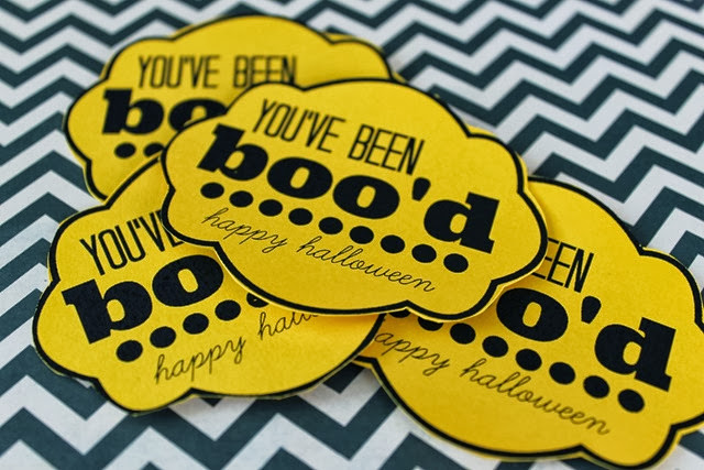 you've been boo'd printable