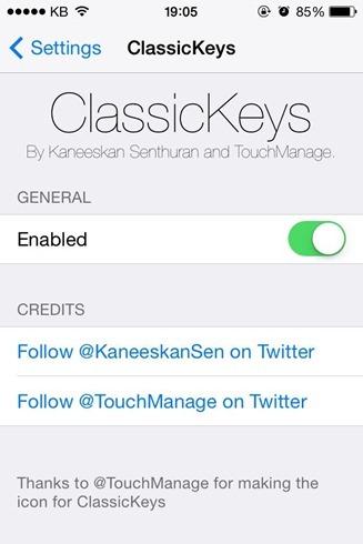 ClassicKeys Cydia Tweak Adds iOS 6 Keyboard To iOS 8 (2)