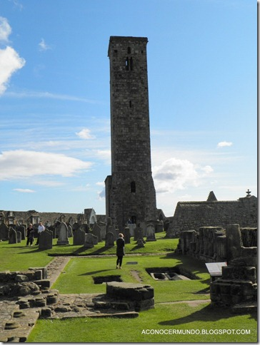 St. Andrews. Catedral, Torre de St. Rules-PA080437