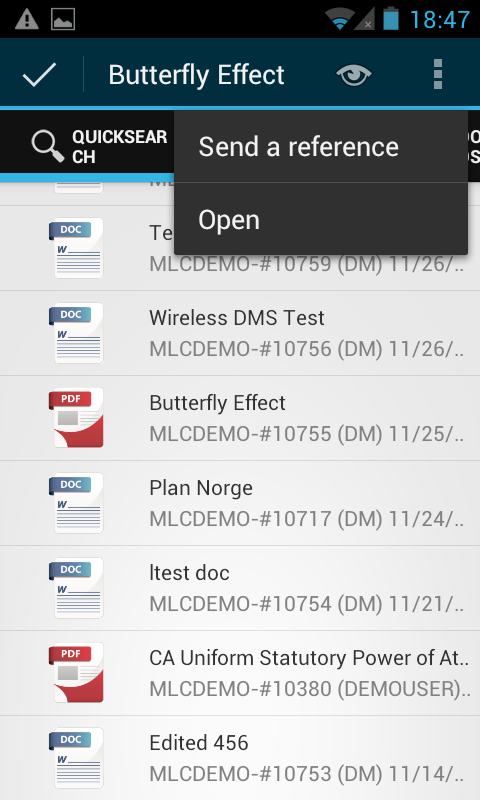 WirelessDMS- screenshot