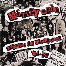 Motley Crue Decade Of Decadence