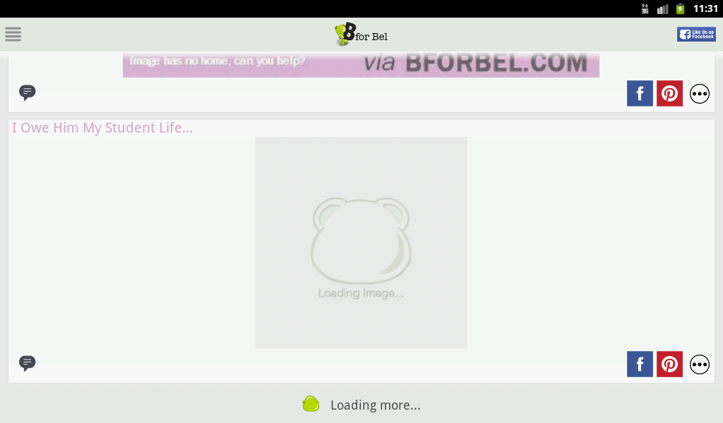 BforBel- screenshot