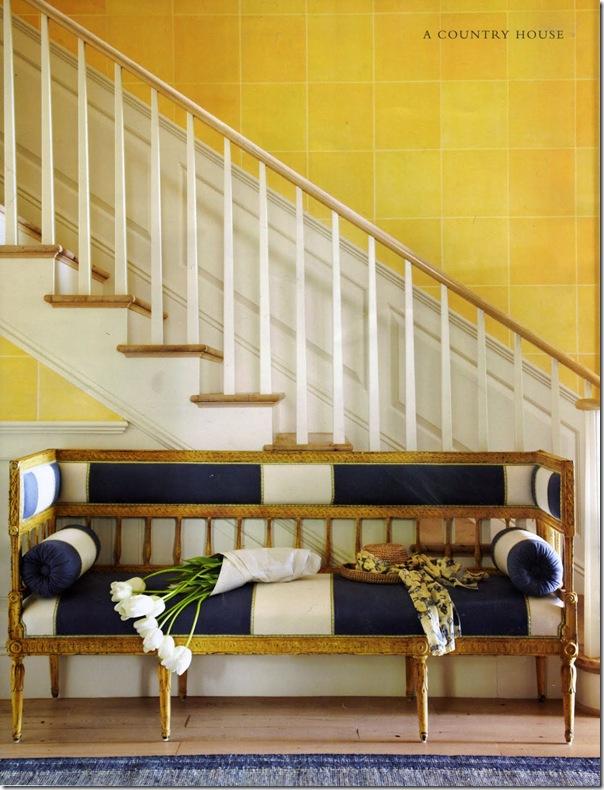 Uso del colore giallo case e interni for Case e interni