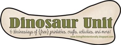 Dinosaur unit - 6 week