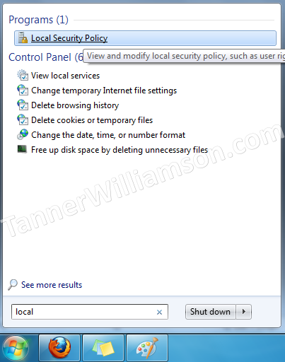 Windows 7/8 Network File Sharing Fix