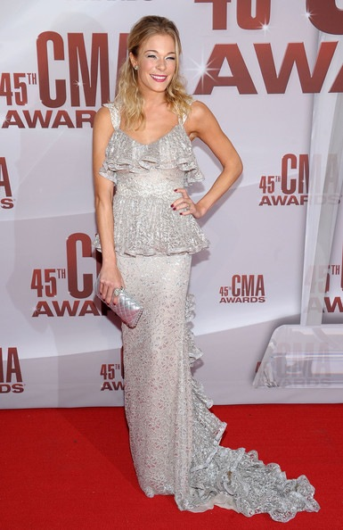 LeAnn Rimes 45th Annual CMA Awards Arrivals