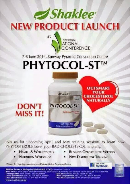 phytocol-st,launching phytocol, NC, National conference shaklee