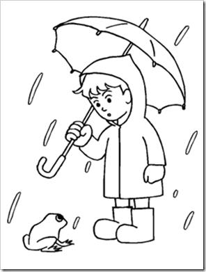 Preschool Alphabet: Rainy Days Experiment