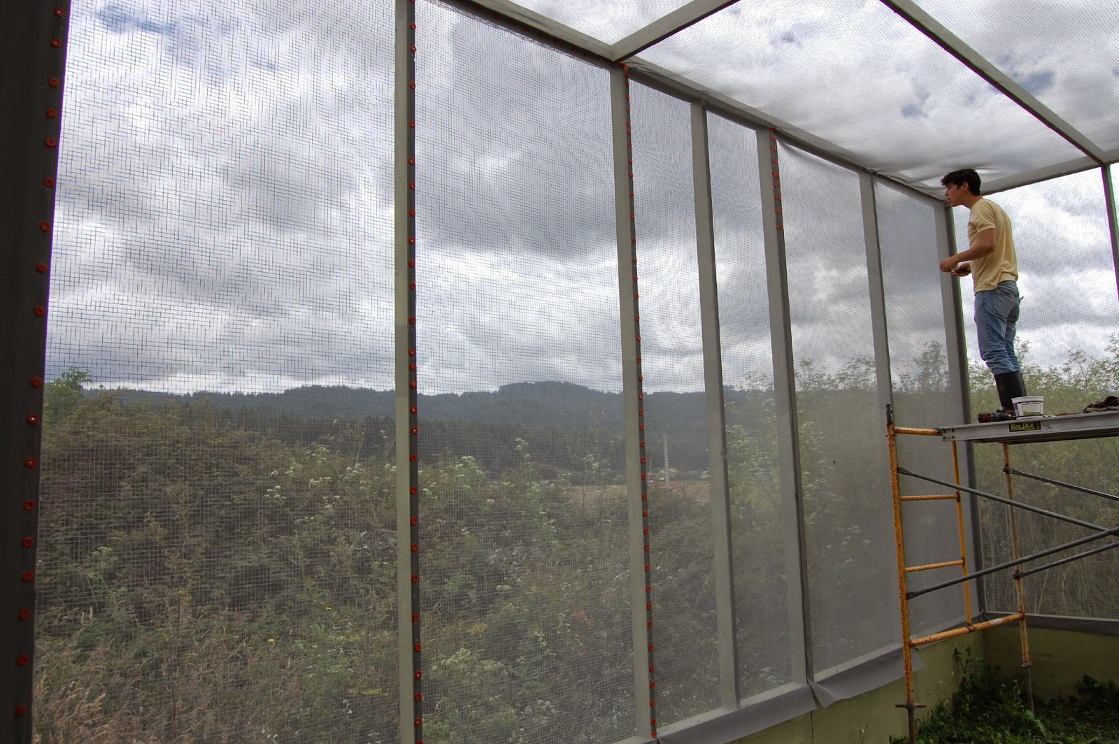 Large Aviary at Humboldt Wildlife Care Center Nears Completion ...