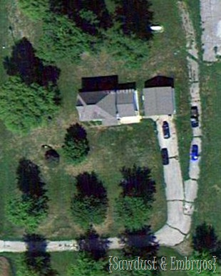 Aerial Image of our Property {Sawdust and Emrbyos}