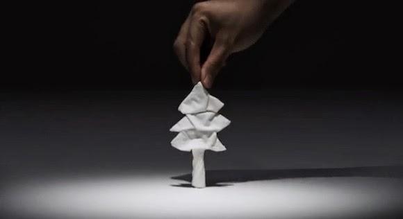 pohon dari tisue