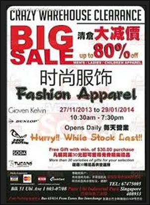 Everyday On Sales   Singapore  27 Nov 2013-29 Jan 2014  Crazy ... 679c930632e72
