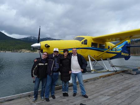 Amintiri Canada: un echipaj pt hidroavion