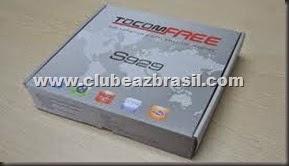 TOCOMFREE S929 NOVA ATUALIZAÇÃO