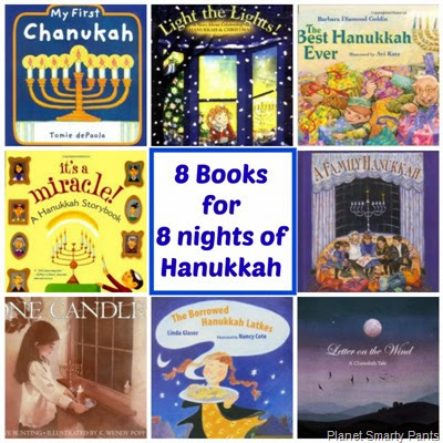 8 Books for 8 Nights of Hanukkah