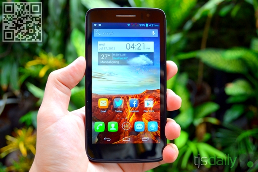 Alcatel One Touch Scribe HD Front