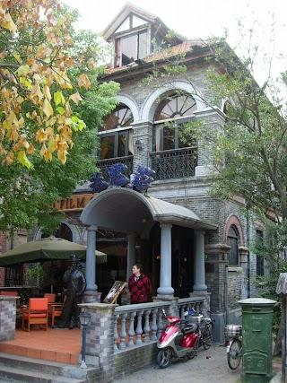 Old Film Cafe à Duolun Lu (Rue des Ecrivains) à Shanghai
