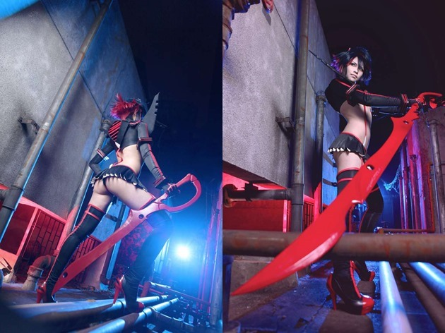 kill-la-kill_cosplay_Matoi-Ryuuko_japanese-girl