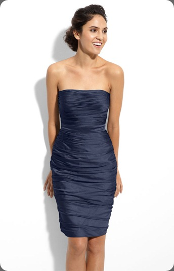 wedding dress_6491821 ML Monique Lhuillier Bridesmaids Strapless Ruched Cationic Chiffon Dress (Nordstrom Exclusive)