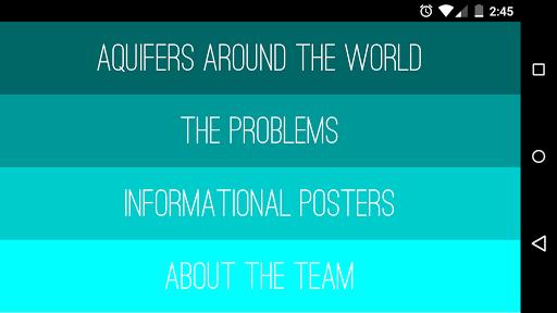 Aquifers Around the World