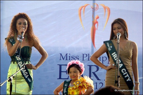 Miss Earth Philippines shared the ramp with Little Miss Earth Philippines