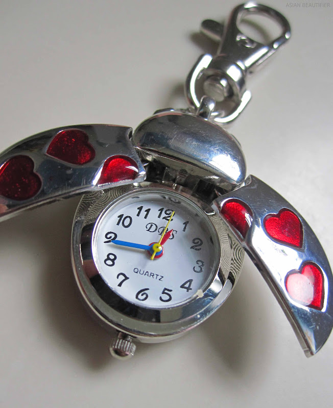 Lady Bird Charm With a Watch