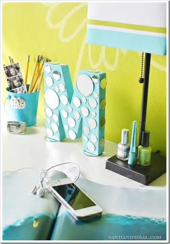 Mirrored Letter Craft