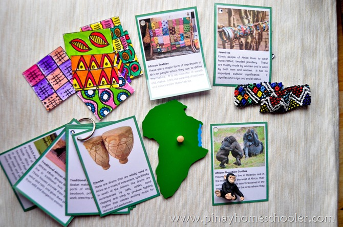 Africa Continent Fact Cards