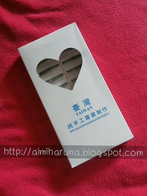 [REVIEW] Taiwan Handmade Eyelashes A-17
