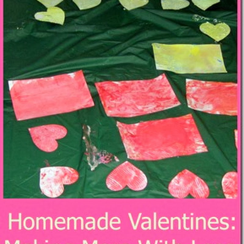 Homemade Valentines For a Large Group