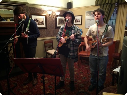 The Talbot pub - The Muckers