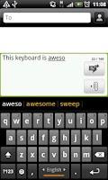 Screenshot of Farsi Nevis Keyboard