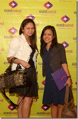 With TheDailyPosh - Photo fr EastWest Bank FB Page