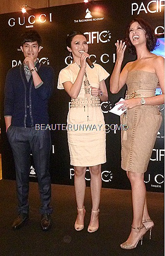 Joanna Peh Yao Dong Linda Black at Gucci Time Paragon