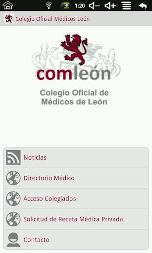 Colegio Oficial Médicos León
