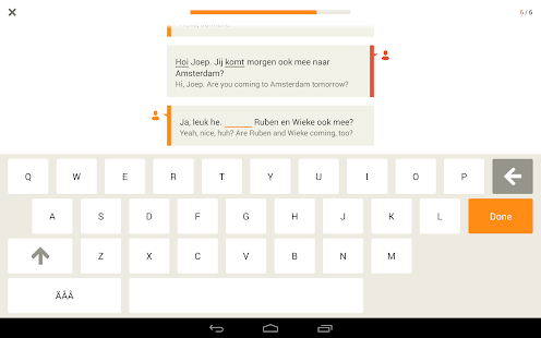 Learn Dutch with Babbel - screenshot thumbnail