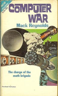 Cover of the novel Computer War by Mack Reynolds