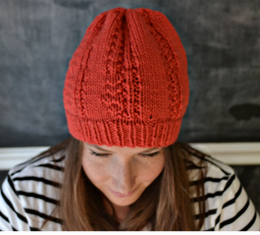 knitted hat complete