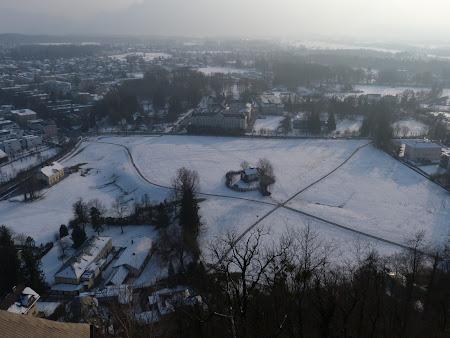 Obiective turistice Salzburg: in spatele castelului