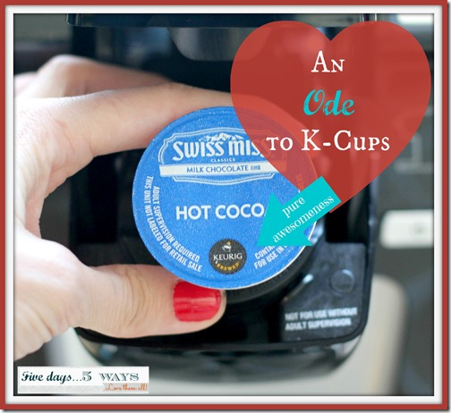 ode to k-cups