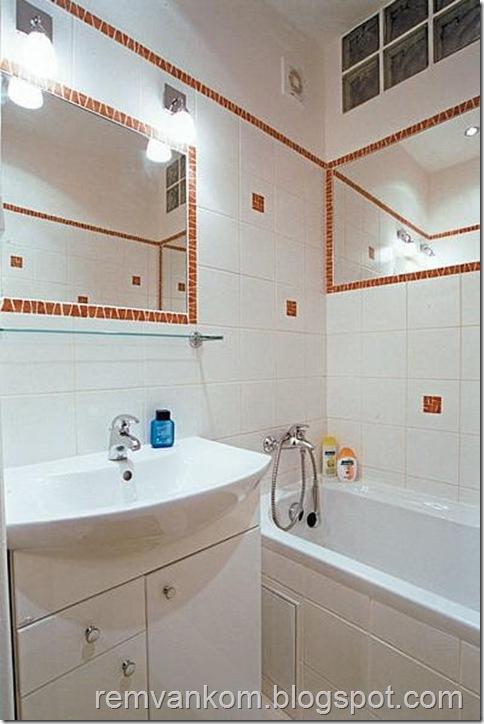 эконом ремонт ванной комнаты 1