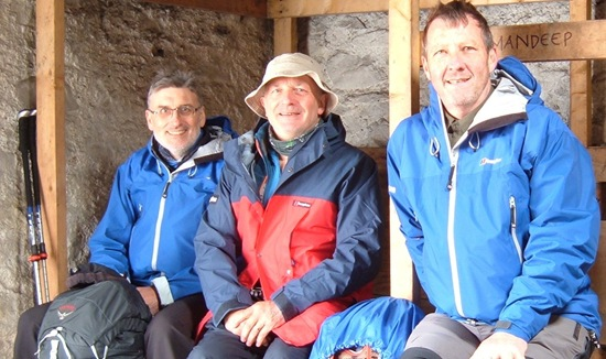 Me, Sandy & Andy: Lairig Leacach Bothy
