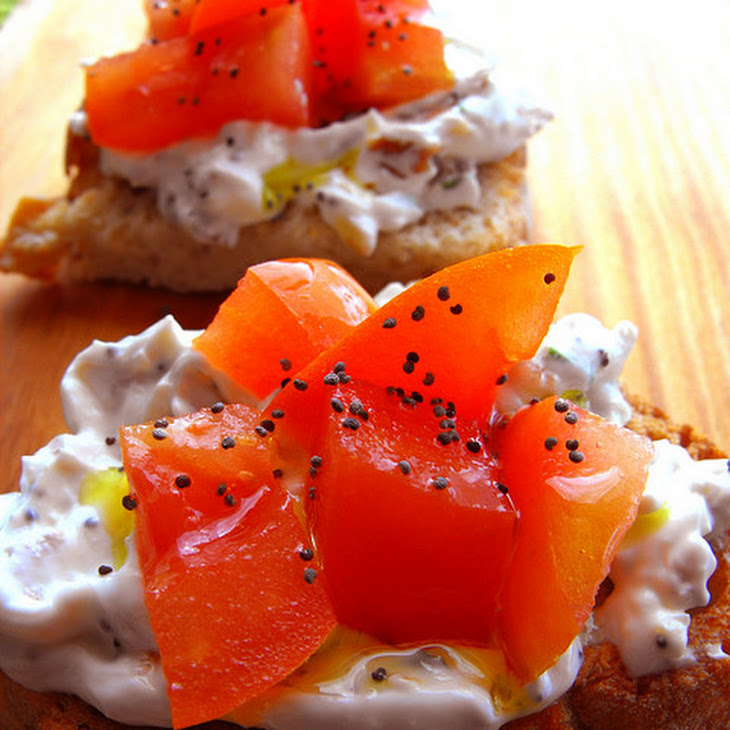 Chives and Onion Cream Cheese Toast Recipe