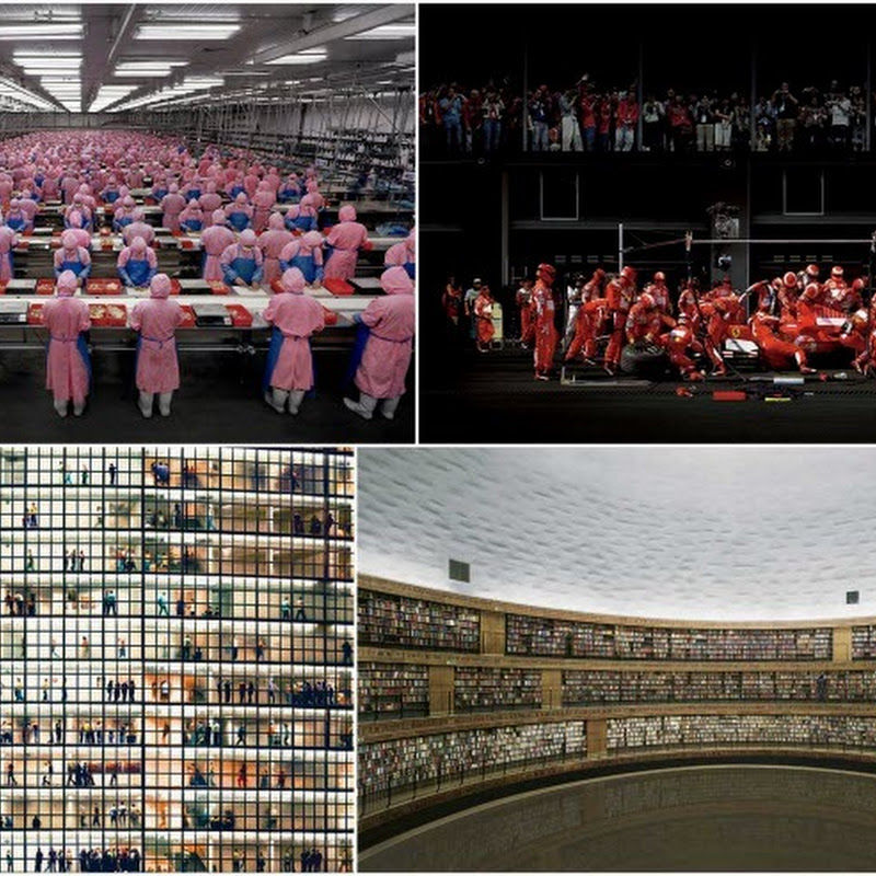 Large-scale Urban Photography by Andreas Gursky