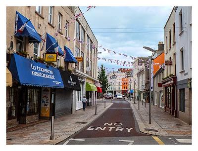 Jersey - St. Helier - leere Straße