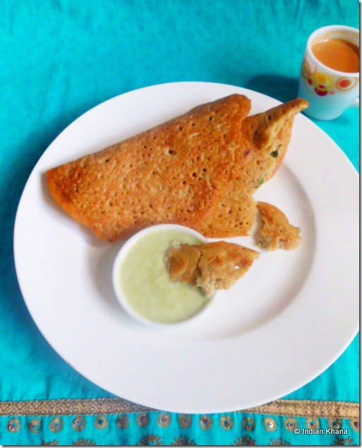 Adai Recipe Lentil and Rice Crepe Recipe
