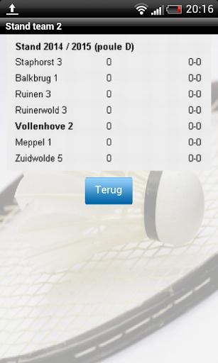 玩運動App|Badmintonclub Ieder voor Zich免費|APP試玩