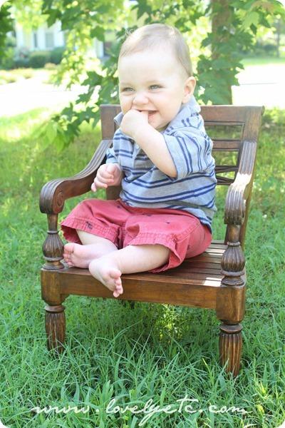 Victorian child's chair