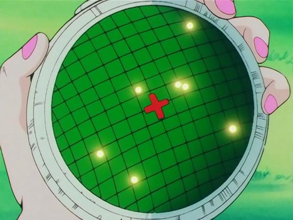 radar de bulma pour les boules de cristal dans dragon ball
